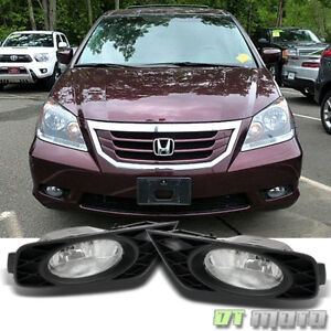 For 2008 2010 Honda Odyssey Bumper Driving Fog Lights Lamp W Switch Left Right
