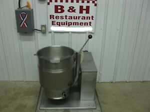 Groen Tdh 20 Steam Jacket Tilt Soup Kettle 5 Gallon 20 Qt Natural Gas