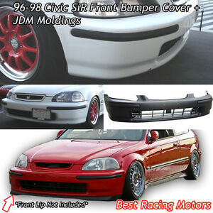 Sir Style Front Bumper Cover Jdm Molding Fits 96 98 Honda Civic 2 3 4dr