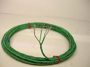 10 Space Station Wire 22 Awg Stranded 4 Twisted Nickel Plated Fluoropolymer