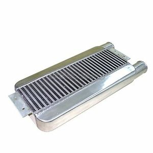 Cxracing Intercooler 23x11x3 Same Side Inlet Outlet For Supra Mustang Talon