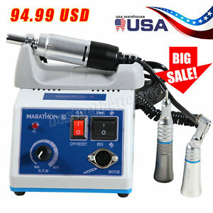 New Dental Lab Marathon Electric Micromotor Polishing Unit N3 35k Rpm Handpiece