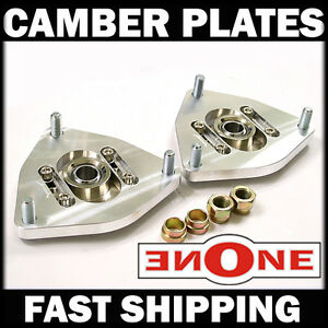Mk1 Pillowball Front Camber Plates Strut Mount Genesis Coupe For Coilover Kits