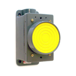 Numatrol Pneumatic Push Button Yellow Pb3 1604