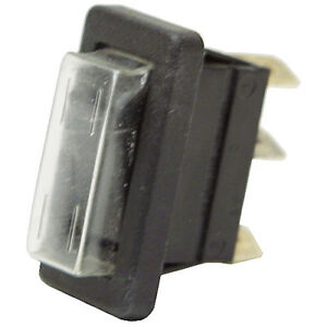 Spdt 16 Amp Rocker Switch W protective Cover 11 3153