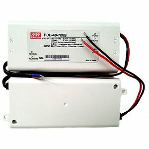Mean Well Pcd 40 700b 40w 700ma Led Driver Waterproof Pfc Triac Dimmable