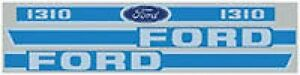 New Ford 1310 Decal Set
