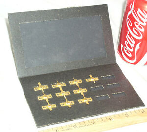 10 Nos New Old Stock Gold 82071 Ghz Technology Rf Amplifier Transistor