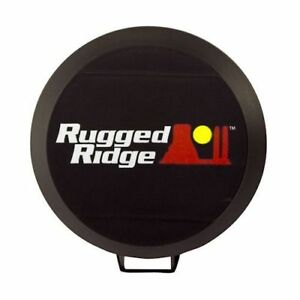 Hid Off Road Light Cover 6 Inch Black Each Rugged Ridge X 15210 50