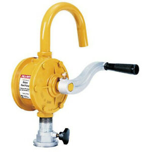 Tuthill fill rite Sd62 Fuel Transfer Rotary Hand Pump