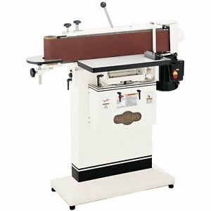 Shop Fox W1688 1 1 2 Hp 6 inchx 80 inch Edge Sander Table