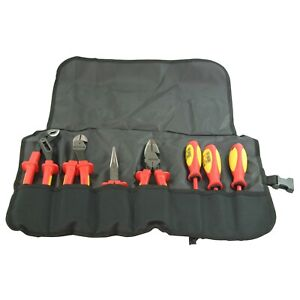 Knipex 989826us 7 piece Insulated High Leverage Commercial Tool Set