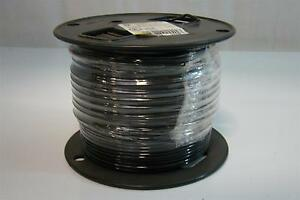 12 Solid Copper 500ft Black T90 Nylon Or Twn75 Ym 680 590 Insulated Wire Thhn t