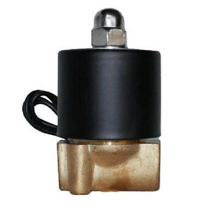 Air Ride Suspension 1 4 npt Brass Valve Electric Solenoid For Train Horn Fast