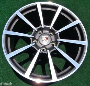 New Genuine Oem Factory Porsche 911 Carrera Classic Rear 20 Inch 991 Wheel 67426