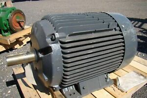 Emerson 3ph 460v 68amps 60hp Motor 09703696 100 6313 2z j c3
