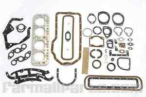 Complete Overhaul Gasket Set With Seals For Farmall M W Mta Super Mta 400