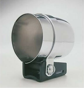 Autometer Individual Gauge Mounting Cup Pod 2 1 16 Electric mechanical Chrome