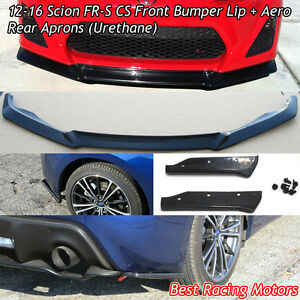 A Style Front Lip A Style Rear Aprons urethane Fits 12 16 Fr s Toyota 86