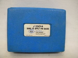 Kent Moore J 25014 Band To Apply Pin Gauge diesel gm chevy mopar ford