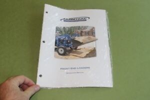 Farmtrac Front end Loaders Operator s Manual