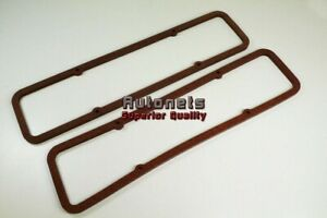 Small Block Chevy 283 305 327 350 Valve Cover Gasket 5 16 Extra Thick Sbc Cork