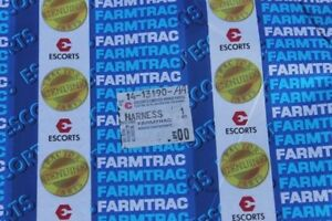 Farmtrac Tractors Wiring Harness 14 13190 aa Esl11986 Switch To R Board New