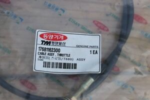 Tym T680 Tractors Cable Assy Throttle 17681162300 Still Sealed