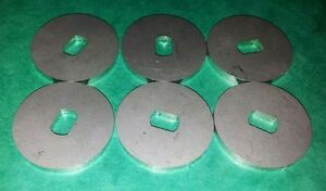 Dellorto Drla 36 40 45 48 Dhla 2 0mm Spindle Spacer Washer Stainless 6 Pack