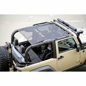 Rugged Ridge Eclipse Shade Top Mesh Jk 2 Door Jeep Wrangler 07 To 14 X13579 06