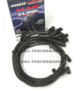 Moroso 9189m Spark Plug Wires Ford 5 0l F150 F250 Bronco Mustang Thunderbird