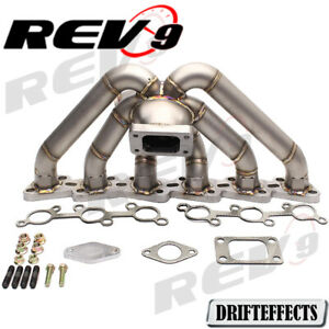 Rev9 Hp series For Nissan Rb20 Rb25 Equal Length T3 Top Mount Turbo Manifold