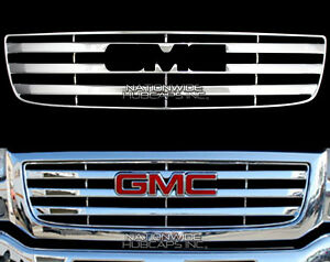 2003 2006 Gmc Sierra 1500 Chrome Snap On Grille Overlay Grill Cover Front Insert