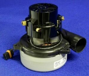 Tennant 1023271 Vacuum Motor 2 Stage 24vdc For T3 T3 Automatic Speed Scrubber