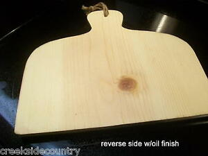 Unfinished Wood Chubby Bread Board Or Cutting Board
