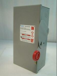 Eaton Cutler hammer 30amp Heavy Duty Safety Switch Dh321ngk