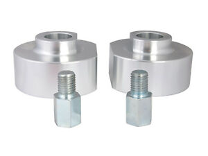 2 Lift Height Front Leveling Kit For Ford 4wd Trucks Suv Silver Spacers