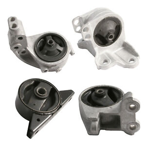 4pc Motor Mount Set For 00 05 Mitsubishi Eclipse V6 3 0l Engine At Transmission