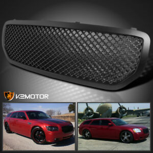 2005 2007 Dodge Magnum Honeycomb Black Front Hood Replacement Grill Grille