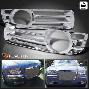 05 10 Chrysler 300 Base Limited Touring Fog Driving Lights Trims Covers