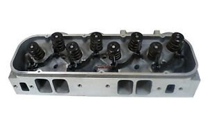 Small Block Ford Sbf Aluminum Complete Cylinder Head Sbf 64cc 190cc Straight