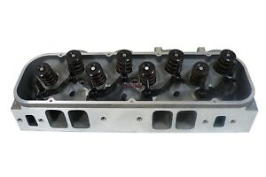 Heavy Duty Small Block Ford Sbf Aluminum Cylinder Head 64cc 190cc Straight Plug