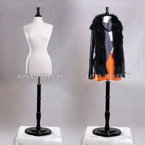 Female Size 6 8 Mannequin Manikin Women Dress Form f6 8w bs r02b