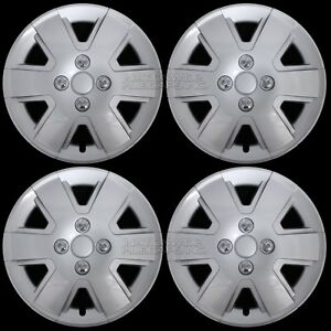 04 16 Ford Focus 15 Wheel Covers Rim Hub Caps Hubs 4 Lug Snap On Free Shipping