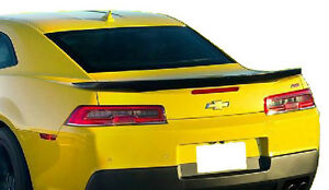 2014 2015 Chevrolet Camaro Painted Factory Z28 Style Rear Spoiler Flushmount