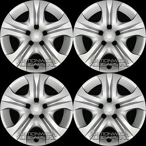 4 New 2013 2018 Toyota Rav4 Le 17 Hub Caps Full Rim Wheel Covers R17 Steel Rims