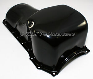 70 82 Ford 351c M 400 Front Sump Black Oil Pan Stock Capacity Cleveland