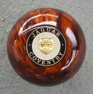 Jaguar Walnut Burl Wood Xj6 Xjs Xj8 Xk8 Xjr Xkr Xk S Type V8 Gear Shift Knob
