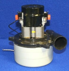 Tennant 130416 Vacuum Motor 3 Stage 120v For Extractors 1220 1240 1260