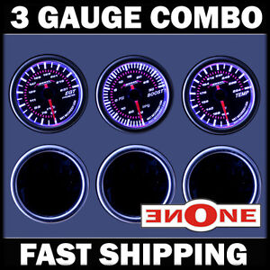 2 1 16 52mm Mk1 Turbo Diesel Gauge Kit W Egt Boost Trans Temp Gauges